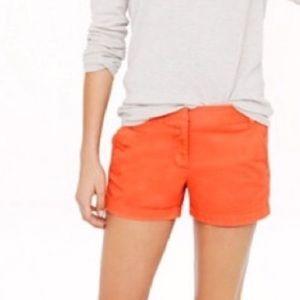 | J. Crew | chino shorts. Size 0.